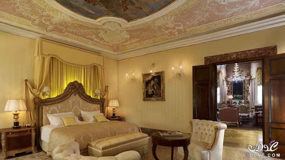غرف نوم باللون الدهبى غرف نوم راقية ديكورات ذهبى لغرف النوم   عمر