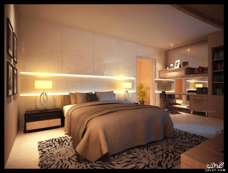 أحدث غرف النوم الرئيسية 2018,غرف نوم مميزة,ديكورات مختلفة لغرف نوم
