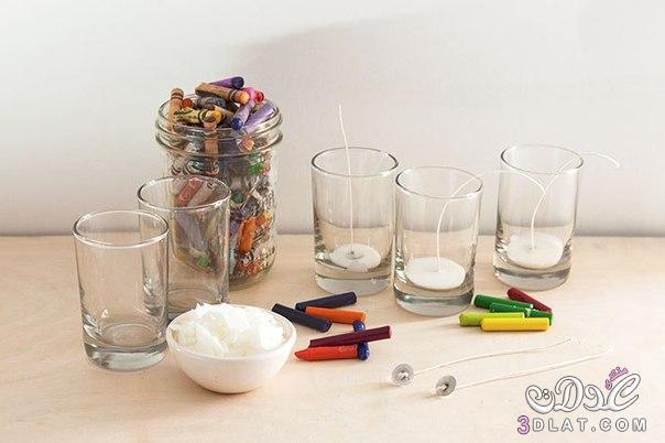 [صور] طريقة لعمل اكواب الشموع الملونة بالصور شموع ملونة للزينة بطريقة بسيطة وجميلة با 3dlat.com_1414176047