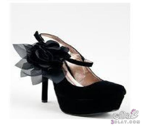 d1e11c346 أحذية كعب عالي باللون الأسود - NINAKAHINA