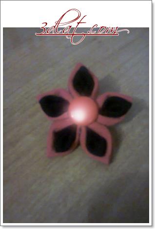 [اعمالي] الوردة الجميلة وردة باللون الأحمر  شغل ايدي 3dlat.com_1414918942