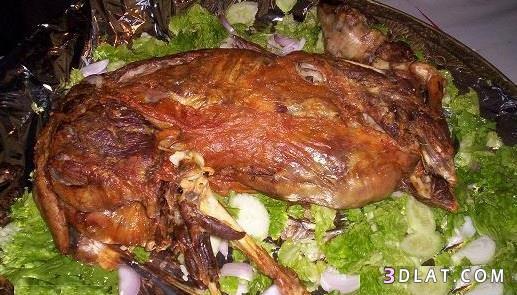 خروف العيد، الخروف المشوي، اكلات الاضحى 3dlat.com_14_18_f38e
