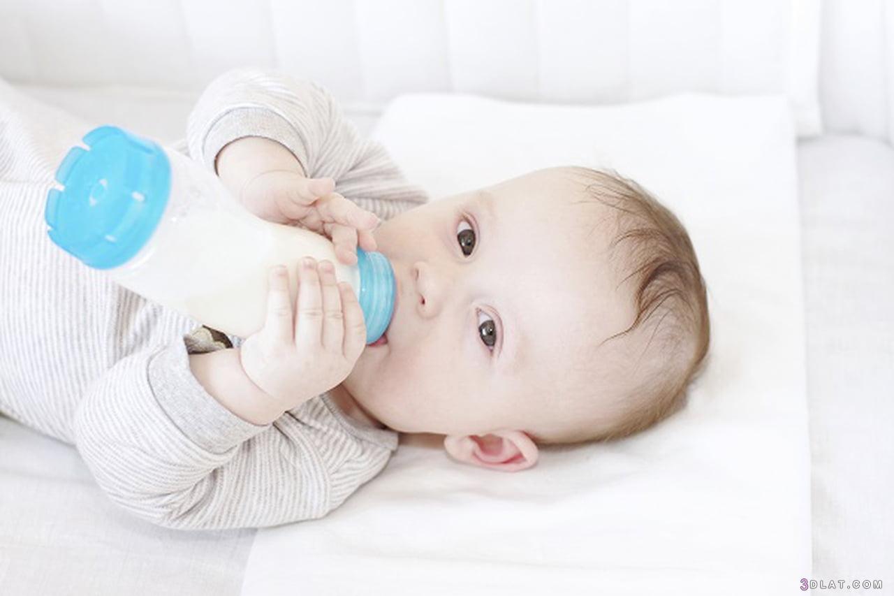الأول, الحليب, الطفل, العام, عمر