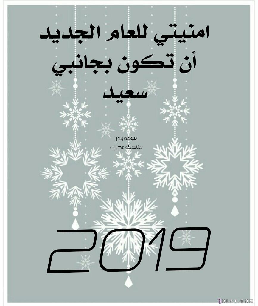 تهنئه للعام الجديد بطاقات تهنئه ورسائل 3dlat.com_15_18_3d44