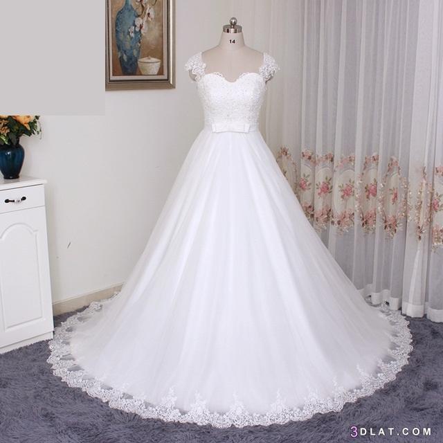c2d5bba53b539 فساتين زفاف أنيقة وجميلة 2020