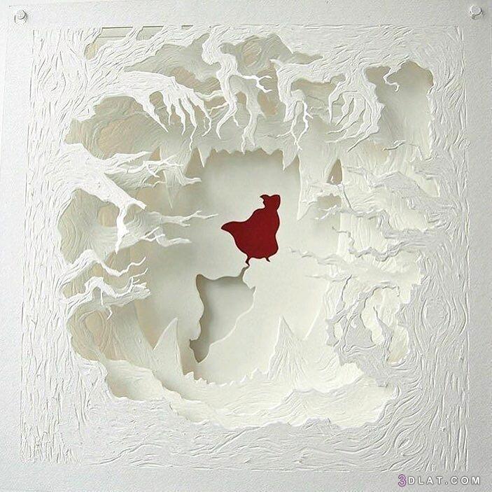 لوحات مجسمه الورق الورق الكانسون اجمل 3dlat.com_15_19_d4f9