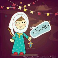رمضان 2019, بنات رمضان تهنئة بشهر 3dlat.com_16_18_be75