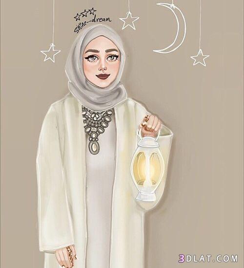 رمضان 2018, بنات رمضان تهنئة بشهر 3dlat.com_16_18_bf6b