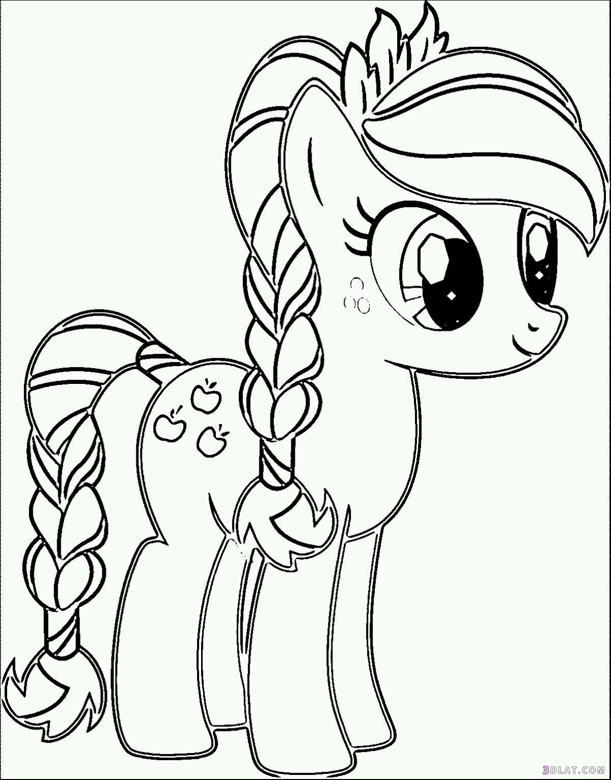 my little pony apple bloom coloring page free printable - HD 2499×3197