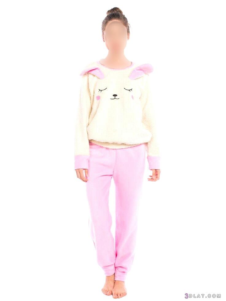 ترنجات شتوية جديدة.ملابس منزلية لشتاء2019.بيجامات شتوية 3dlat.com_18_18_c037