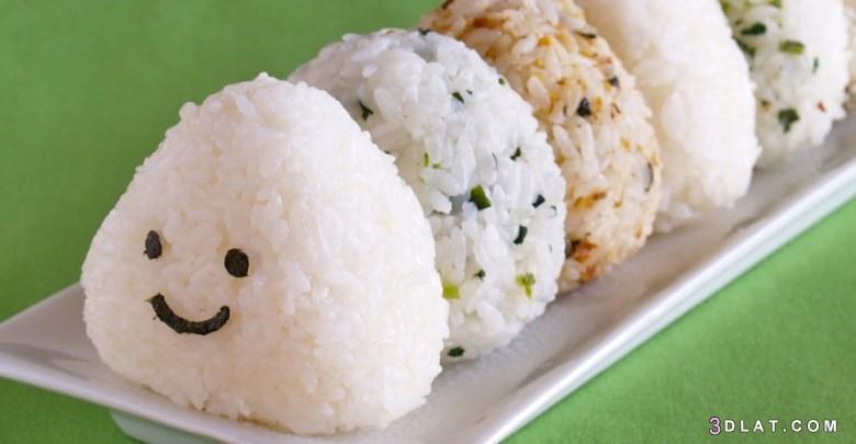 الأرز, اللذيذه, اليابانية, كرات