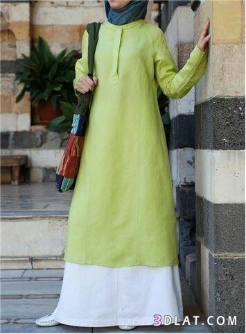 ملابس كاجوال للمحجبات.ملابس محجبات موسم2019.ازياء محجبات 3dlat.com_19_18_58ce