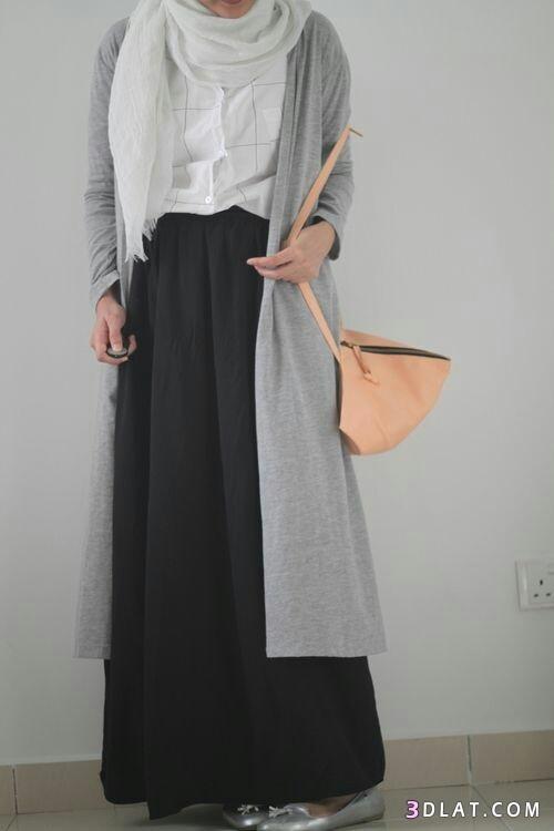ملابس كاجوال للمحجبات.ملابس محجبات موسم2019.ازياء محجبات 3dlat.com_19_18_93a9