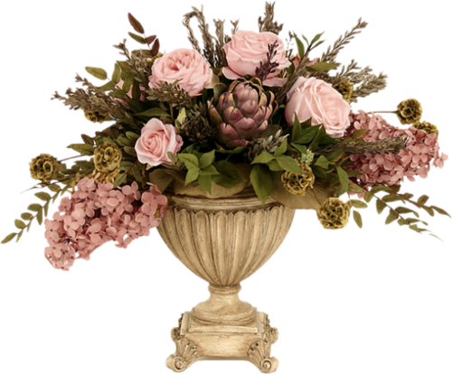 سكرابز زهور للتصميم