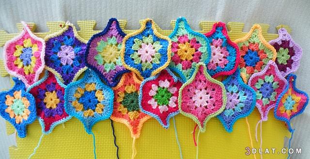 crochetبالصور, باترون, بالوان, بطانية, فارسي.persian, كروشية, مبهجة, مزخرفة