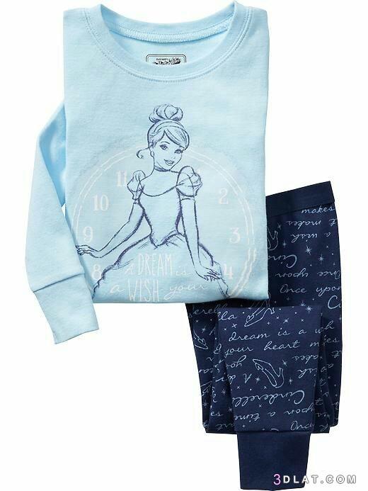 ترنجات بناتى لشتاء2019.اشيك ملابس الاطفال الشتاء.بيجامات 3dlat.com_20_19_b27a