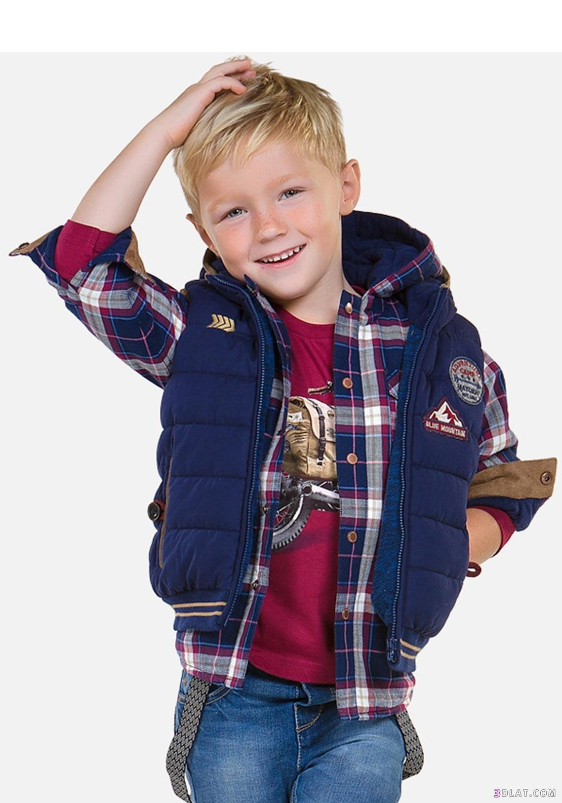 2d3786529 أرقى ملابس أطفال أولاد شتاء 2020 , أجمل ملابس أطفال أولاد , ملابس ...