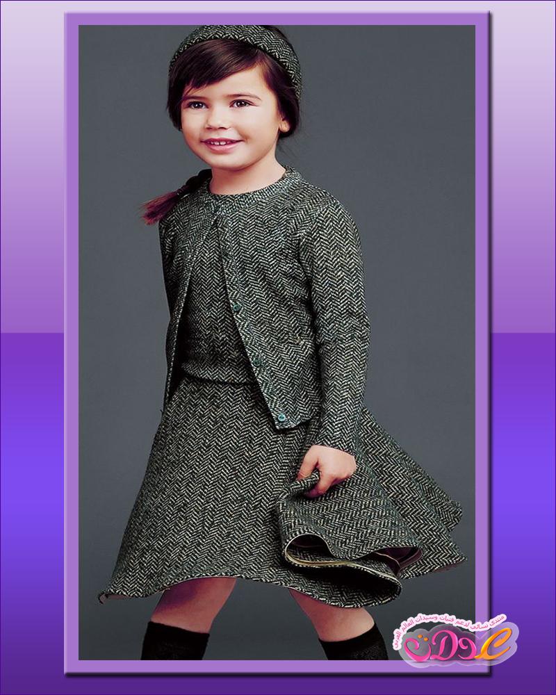 16507b90bd95a ملابس أطفال شتوية للبنات من ماركات عالمية مشهورة وبتصاميم رائعة أجمل ...