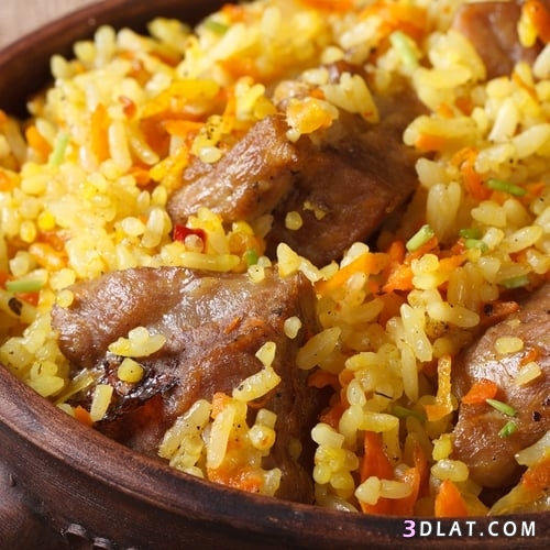 طريقة الأرز بالجزر والقرفة اللحم ،طريقة 3dlat.com_21_18_7ebb