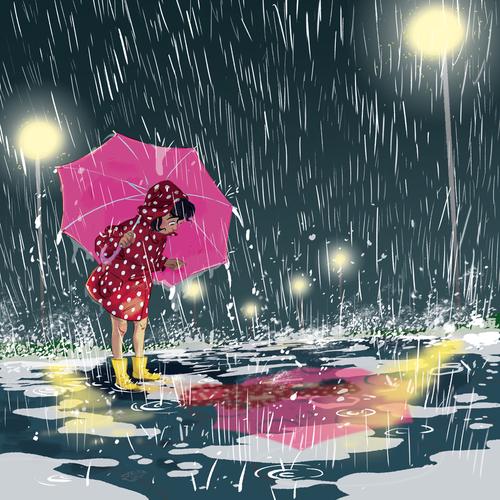 ثرثرة المطر