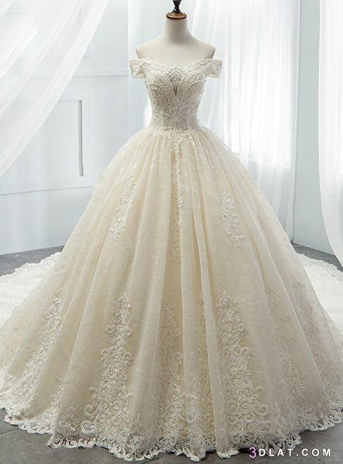 أجدد, أشيك, العرائس, بيضاء, زفاف, فساتين