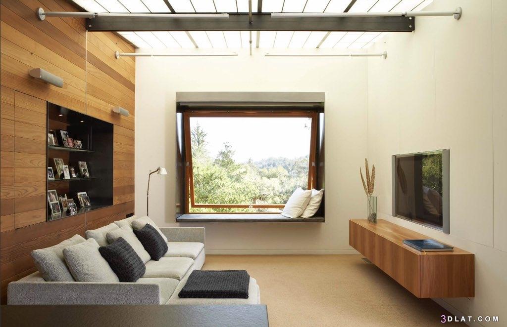 غرفة المعيشة، ديكورات مميزة، غرف المعيشة الضيقة