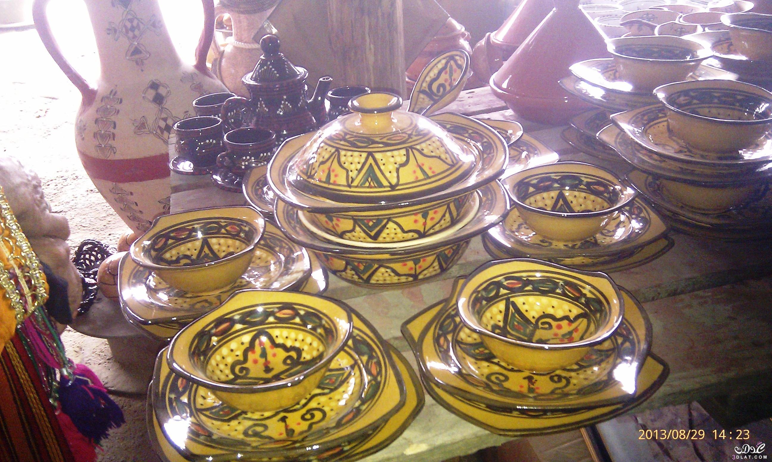 أواني فخارية من تصويري ,صور أواني للمطبخ من الفخار 3dlat.com_23_2014)5.