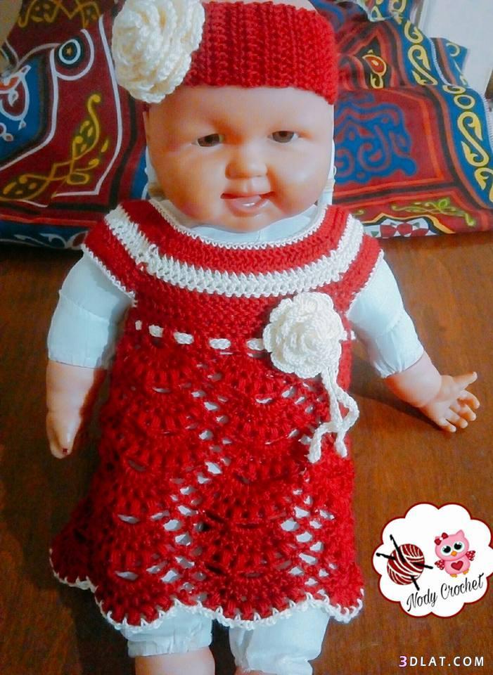 فستان بيبي اعمالى2018 فستان بناتى كروشيه,فستان 3dlat.com_24_18_8f81