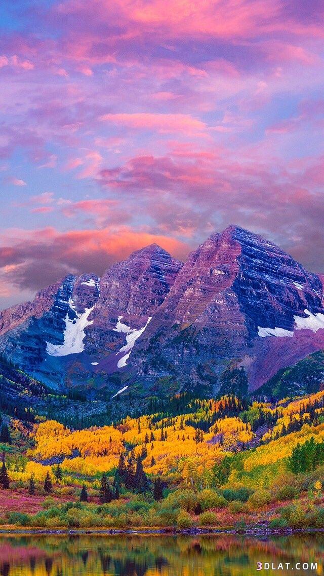 للطبيعة الخلابة وسماء ورمال وشجر وورود، 3dlat.com_25_18_096f