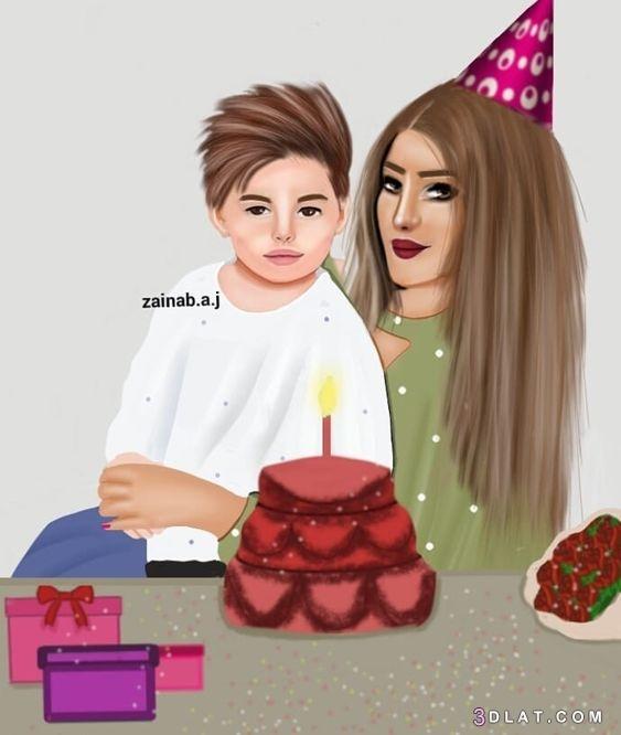 2019, girly, ام, بنات, جيرلى, صور, عيد, للتصميم, ميلاد, ميلاد2019