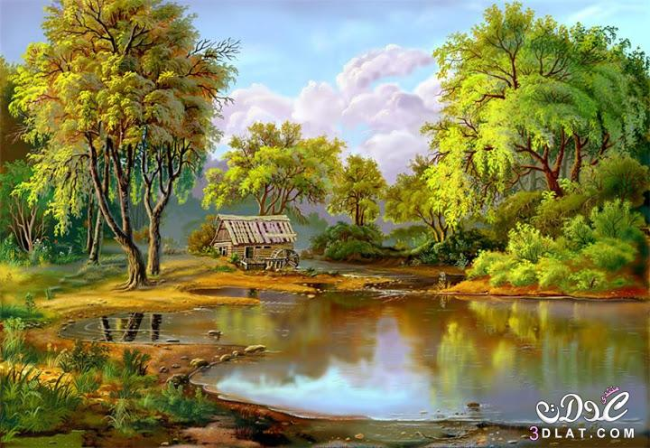 صور طبيعية مرسومة 2014 , رسومات من الطبيعة ولا اجمل 2014 , رسومات مميزة 3dlat.com_25_2014)20