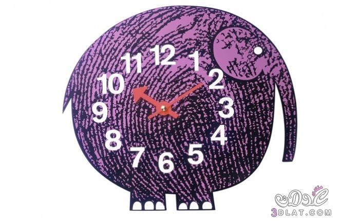ساعات حائط 2014  ساعات مميزه ساعات حائط راقيه 2014 3dlat.com_25_2014)Vi