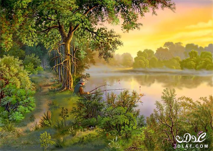صور طبيعية مرسومة 2014 , رسومات من الطبيعة ولا اجمل 2014 , رسومات مميزة 3dlat.com_25_2014)ZO