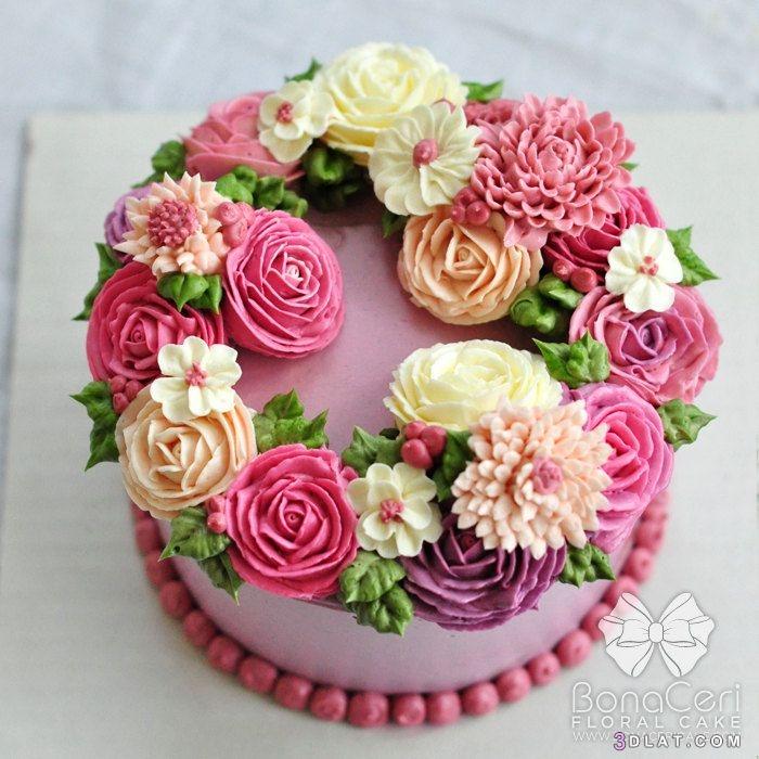 تورتات الربيع لحفلات الزفاف، واعياد الميلاد، 3dlat.com_26_18_2d1a