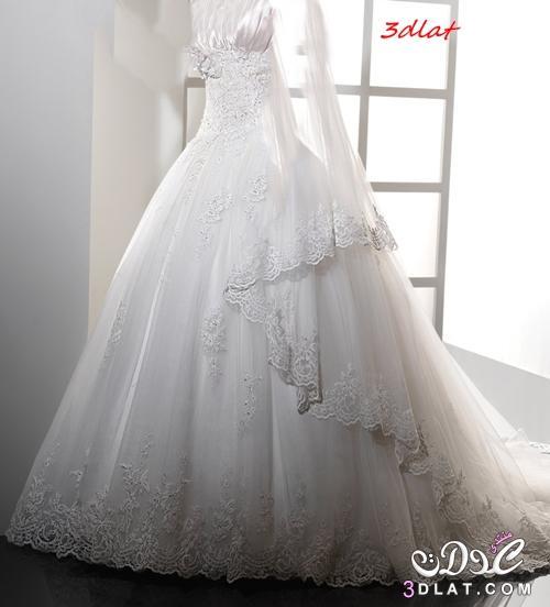 8a6c35091 فساتين زفاف مودرن 2020 اشيك فساتين افراح تصميمات عالمية لفساتين ...