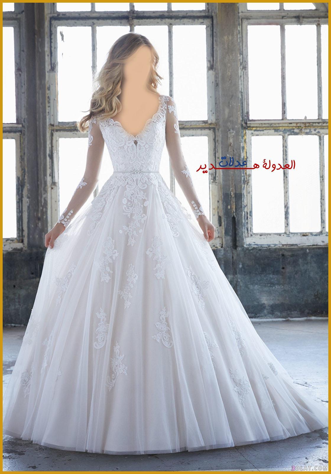 فساتين زفاف فخمة 2018,فساتين اعراس ناعمة,فساتين 3dlat.com_27_18_86ac