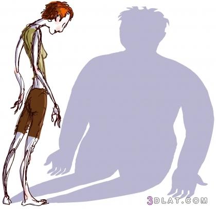 أسباب الوزن النفسية والصحية امراض تسبب 3dlat.com_29_18_37e2