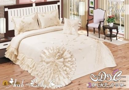 مفارش سرير مطرزة 2015 تشكيلة رائعم من مفارش السرير 2016 مفارش سرير راقية 2017