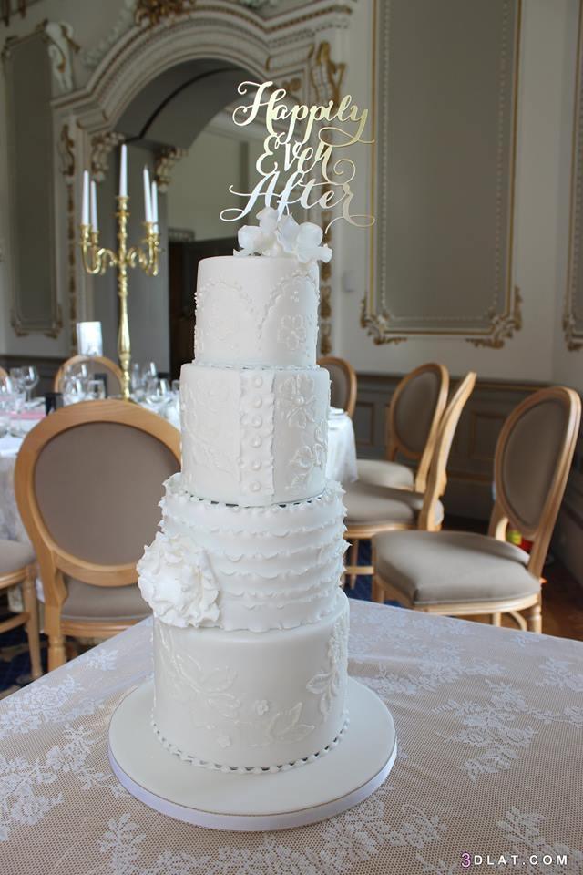الزفاف 2019 أشكال تورتات الزفاف والمناسبات 3dlat.com_31_18_9e6b