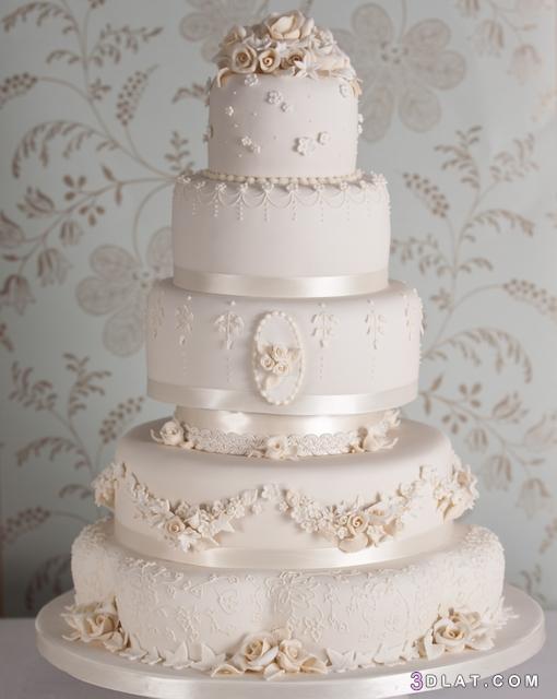 الزفاف 2019 أشكال تورتات الزفاف والمناسبات 3dlat.com_31_18_d139