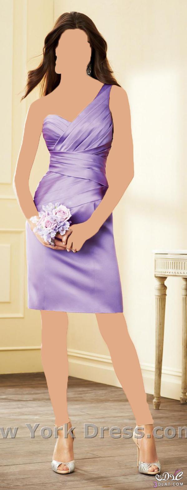 فساتين قصيرة لوصيفة العروسة