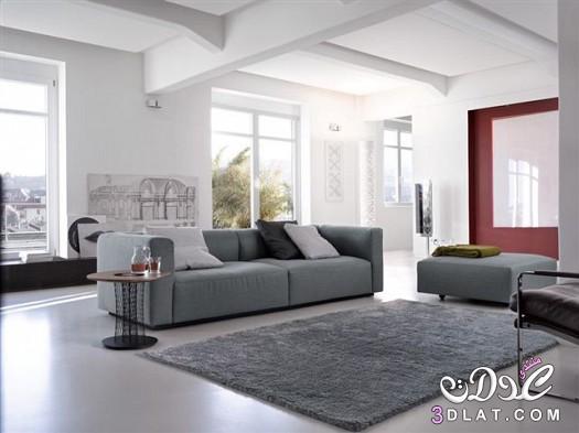 تصاميم غرف جلوس 2018 تصاميم ديكورات باللون الرمادي ديكورات رائعه