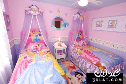 غرف نوم اطفال , غرف نوم اطفال بنات , غرف نوم بنات باللون الروز   ЙǑŏƒ