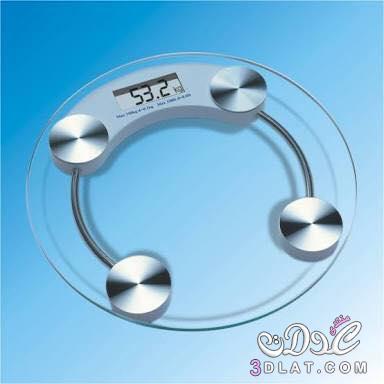 يزان حمام زجاجى شاشة ديجيتال يوزن حتى 180 كيلو بسعر لقطة