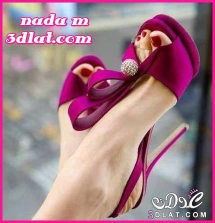 احذية نسائية باللون الفوشى شوز كعب عالى باللون البينك احذية انيقة باللون الروز احذية 3dlat.net_03_15_154d