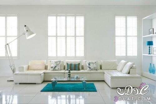 إشراقة اللون الأبيض غرفة المعيشة2019 ديكورا 3dlat.net_03_17_5565