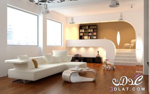 إشراقة اللون الأبيض غرفة المعيشة2019 ديكورا 3dlat.net_03_17_ae48