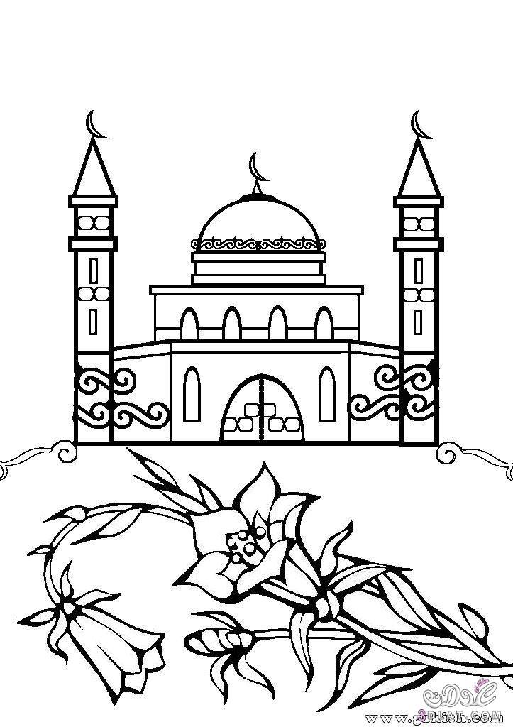 رسومات للتلوين لنصرة فلسطين والمسجد الاقصى 3dlat.net_04_15_2c89