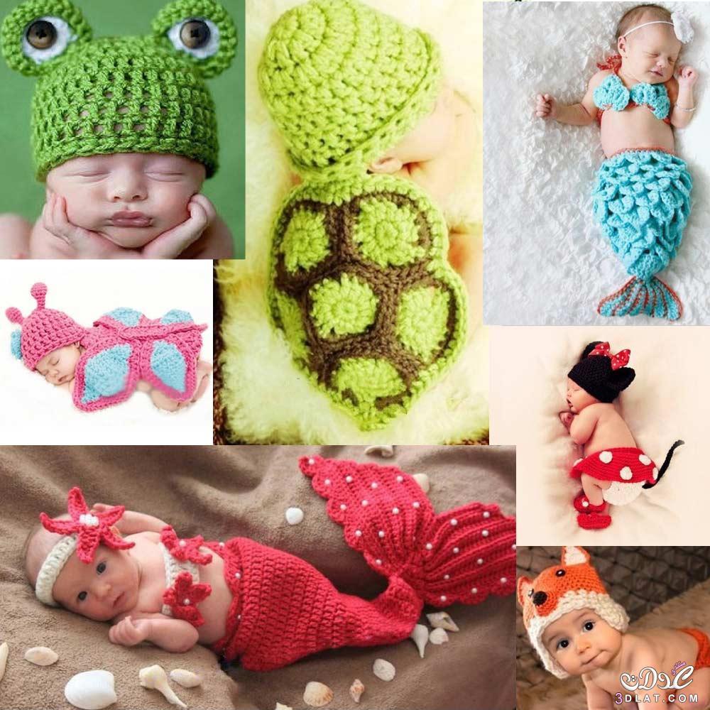 fbe32d08048c5 ملابس للأطفال الرضع بالكروشية 2020 كروشيات للبيبي - ورود الحياة