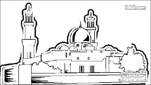 رسومات للتلوين لنصرة فلسطين والمسجد الاقصى 3dlat.net_04_15_b24e